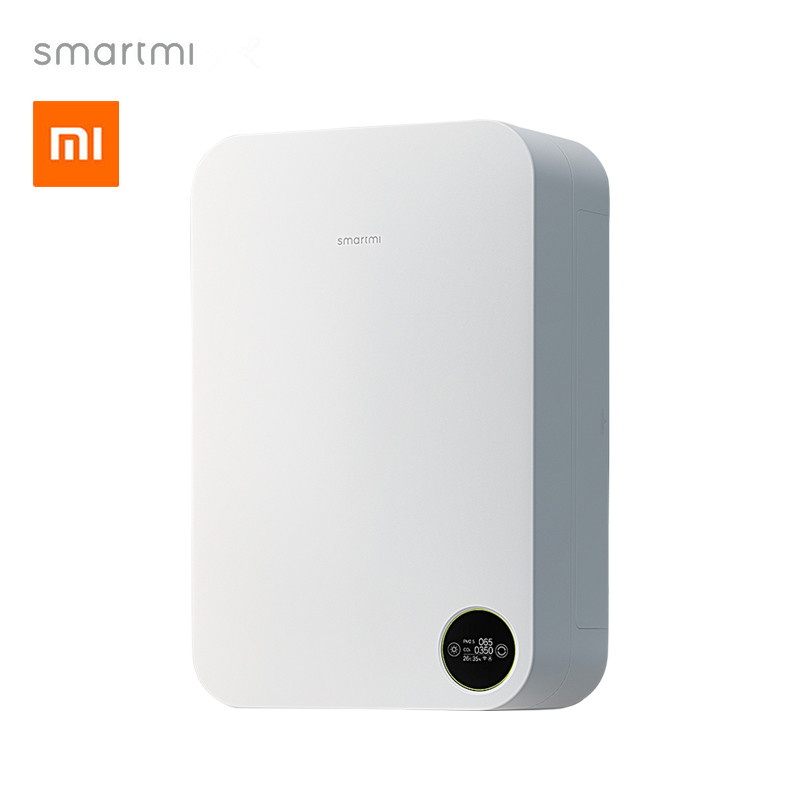 все цены на Original xiaomi mijia smartmi smart Air Purifier home air system air millet purifier anti fog haze formaldehyde oxygen bar PM2.5