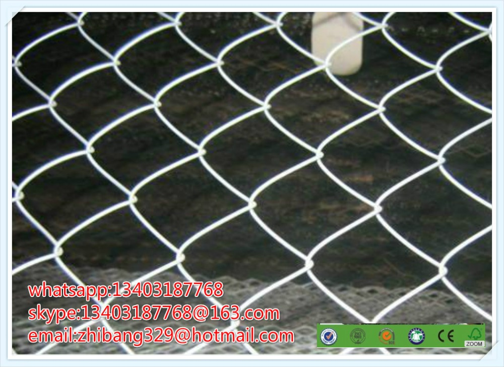 Galvanized chain link fence( diamond wire mesh), PVC Coated Chain ...