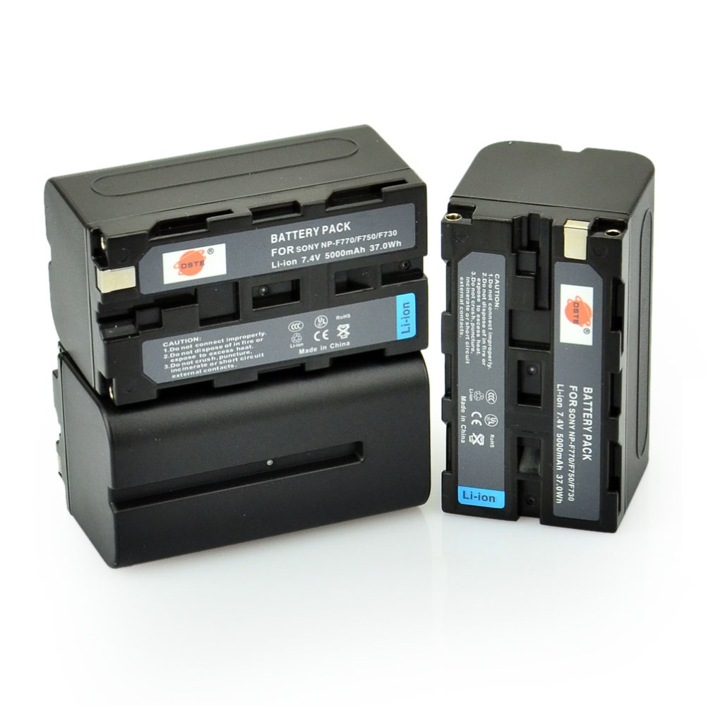 DSTE 5PCS NP-F750 Rechargeable Battery for Sony CCD-TRV65 CCD-TRV66 CCD-TRV67 CCD-TRV68 CCD-TRV715 CCD-TRV72 CCD-TRV75 Camera аккумулятор для фотокамеры neutral oem 2 4500mah np fv100 fv100 sony np fv30 np fv50 np fv70 sx63e sx83e sony np fv100