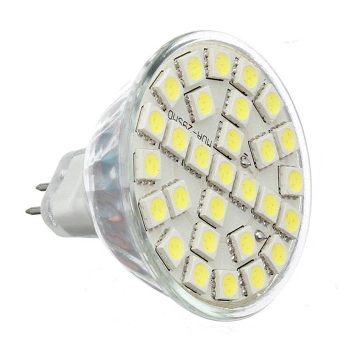 10X Gu5.3 MR16 5W Cold White 5050SMD 29LED 480LM High Power LED Spotlight Bulbs 220V carprie super drop ship new 2 x canbus error free white t10 5 smd 5050 w5w 194 16 interior led bulbs mar713