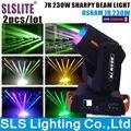 2 pçs/lote Promoção 16 Prisma 7r Feixe de Luz Em Movimento Da Cabeça 230 W Sharpy 7r Feixe 230 Moving Head Luz R7 230 w Feixe Em Movimento