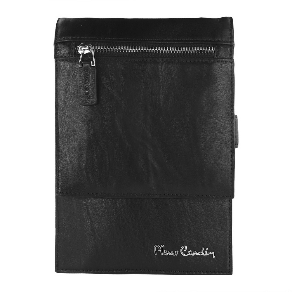 Pierre Cardin Male Shoulder Bag Man Bag Cowhide Genuine Leather Bag Strap For LG G4 G5 G6 G7 V10 V20 V30 Pouch Mobile Phone Bag