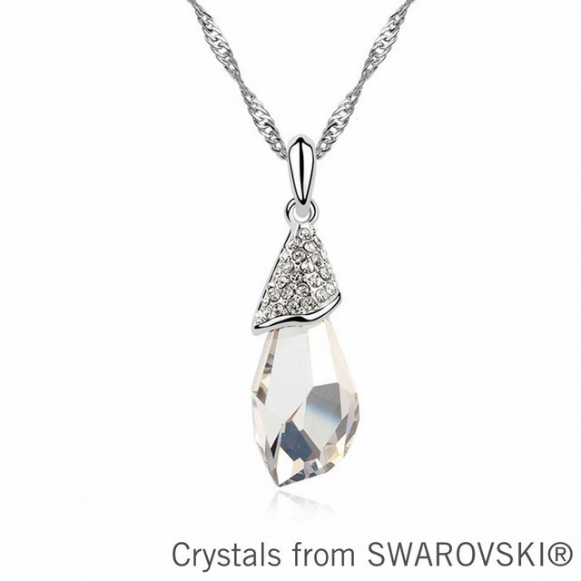 2015 gift for girlfriend crystal pendant necklace made with SWAROVSKI ELEMENTS for Valentine's Day gift