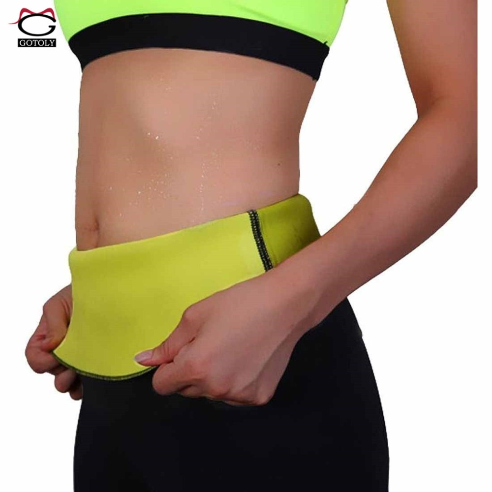 4dafdc6f8a79b Gotoly hot body shaper women waist trainer belt neoprene sweat sauna jpg  1000x1000 Neoprene sweat belt