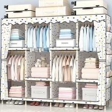 Шкаф простая скатерть шкаф Массив дерева, ткань простой экономической шкаф для армирования bold утепленное большое пальто