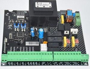Image 4 - Universal verwenden 220VAC PCB board von Automatische Doppel arme schaukel tor opener control board panel motherboard karte
