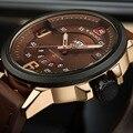 NAVIFORCE Новый Люксовый Бренд Мужчины Военный Наручные Часы мужские Кварцевые Дата Часы Мужчины Кожа Спортивные Часы Relogio Masculino