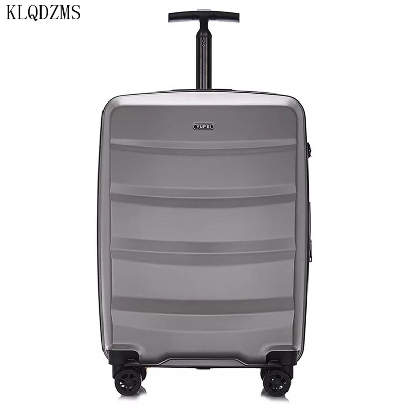 KLQDZMS Business rolling luggage 20/24 inch carry on case Men travel suitcase women trolley luggage