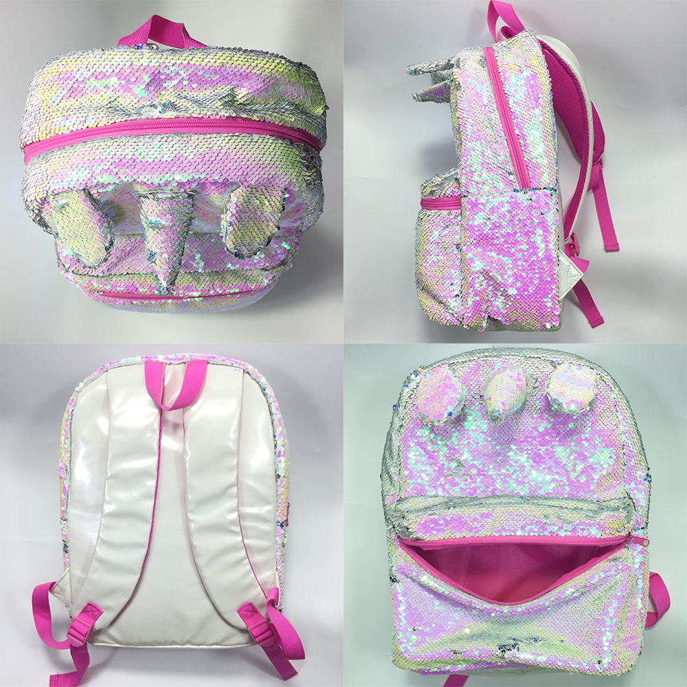 Unicorn Backpack 16 Inches Casual Girls Fashion Travel School Bag