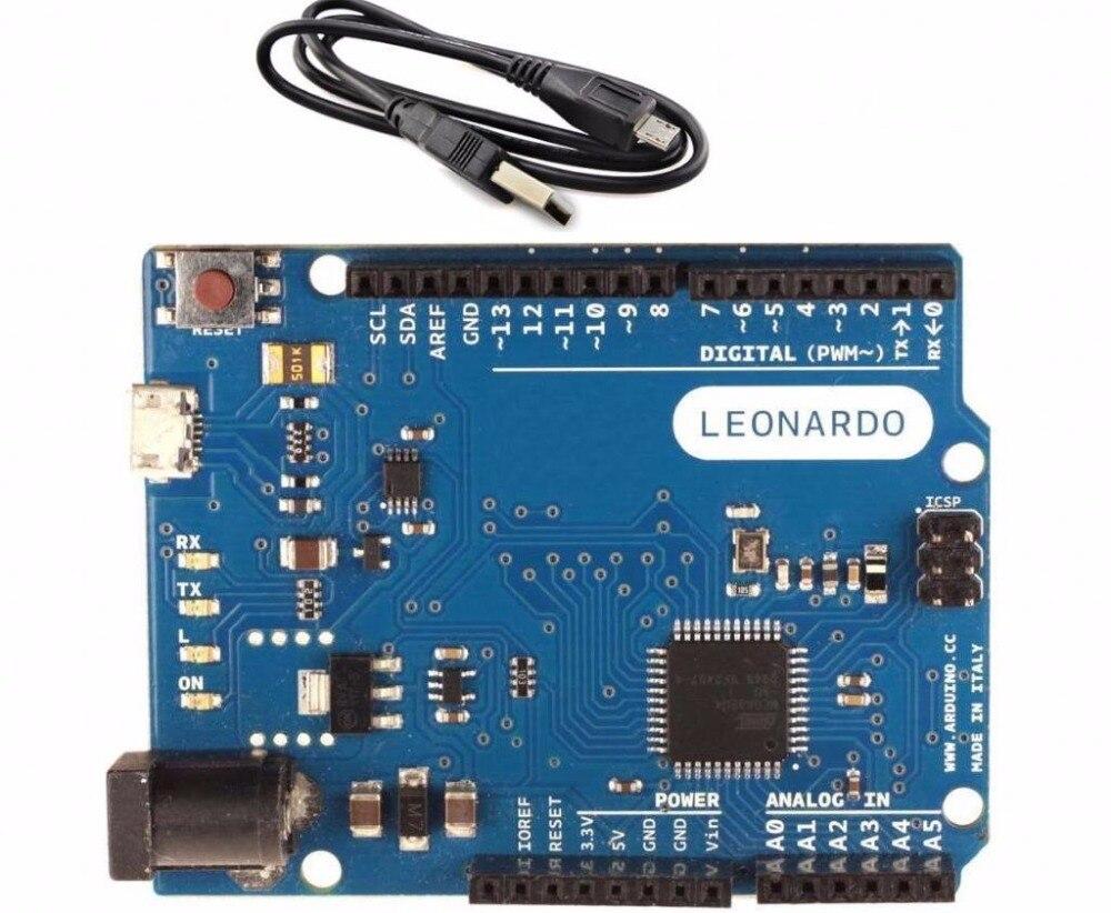1 PCS Leonardo R3 Atmega32u4 contrôleur compatiable Arduino Leonardo R3 NOUVEAU