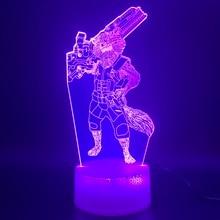 3d Led Night Light Лампа Marvel Superhero Ракета Енот Рисунок Home Decor Яркая База Подарок На