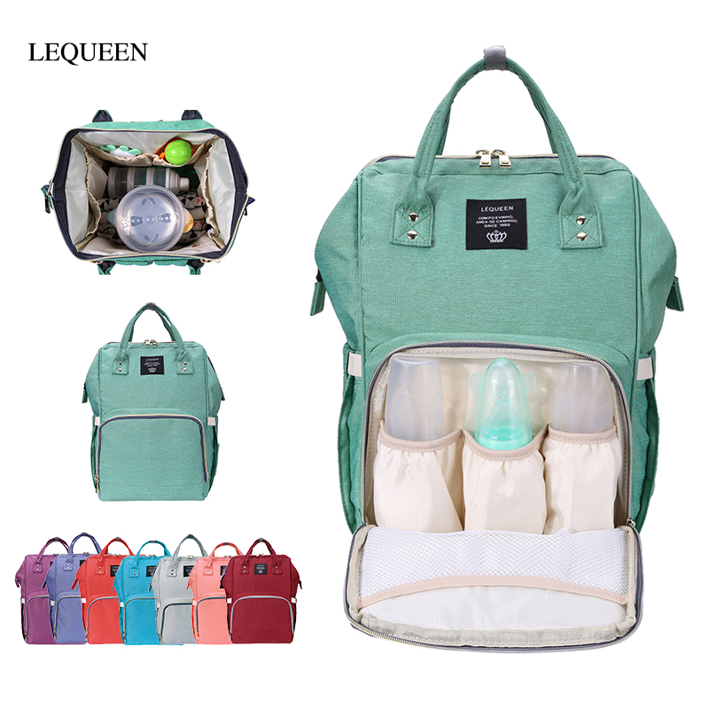 Multifunctional Large Capacity Mummy Diaper Bag Baby Nursing Bag Maternity Baby Care Nappy Bag Baby Mom Travel Backpack