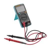 ZT102 Digital Multimeter 6000 Counts Backlight AC DC Meter Ammeter Voltmeter Low Voltage Indication Portable Meter