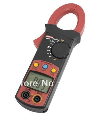 цена на Resistance AC/DC Volt Amp Ohm hFE UA202 Test Digital Clamp Meter Multitester Instrument Tool Portable Hobby Machine Repairing