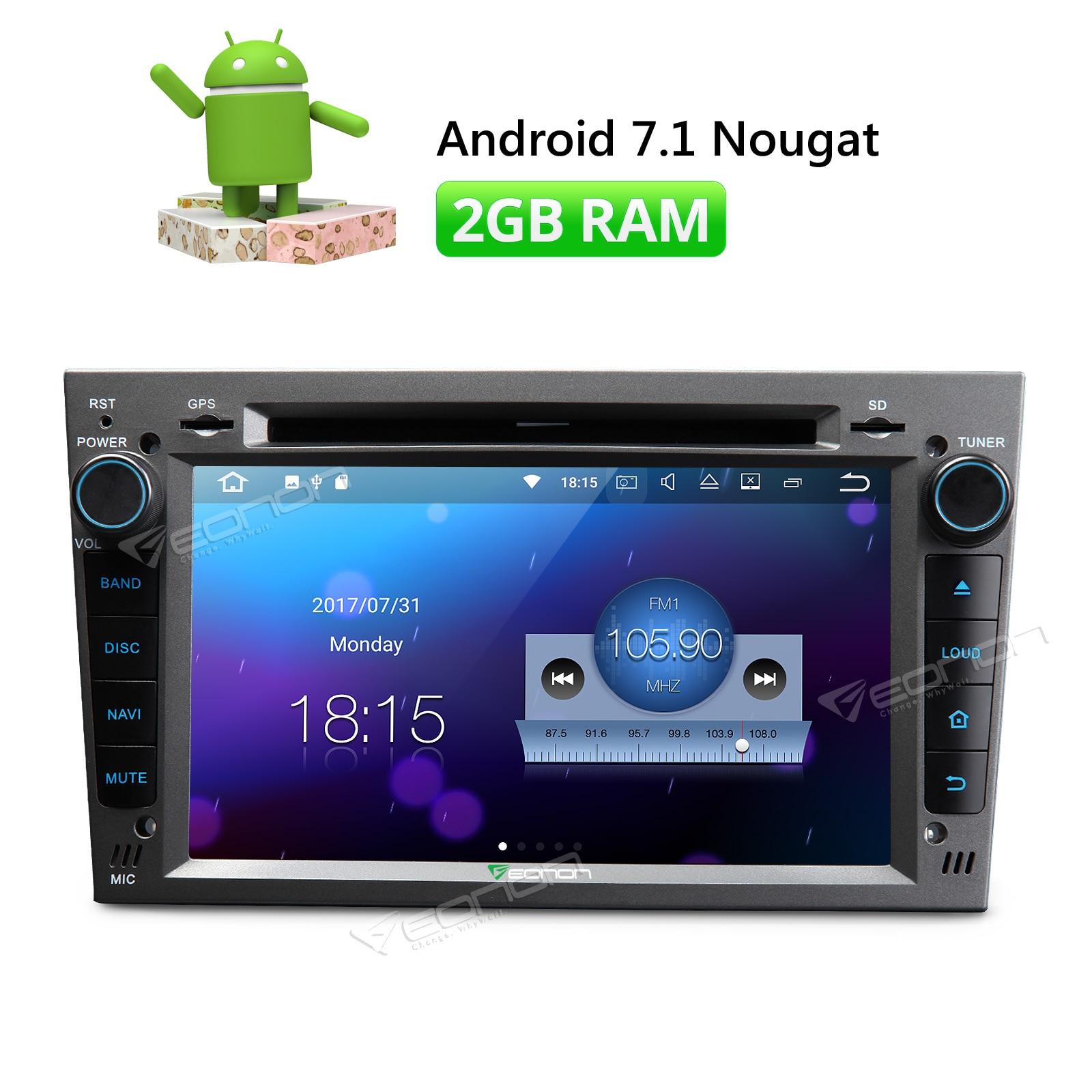 Eonon Grey Ga8154 7 Android 71 In Dash Car Stereo Gps Navigator Wiring Diagram Radio For Opel Corsa Astra Zafira Vectra Antara Meriva Multimedia Player From