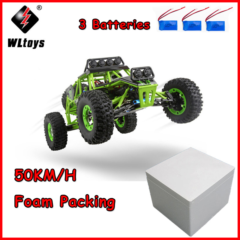 Wltoys 12428 RC Car 1/12 2.4G 4WD Electric Cars Brushed Rock Crawler RTR Remote Control RC Toys Car SUV BigfootWltoys 12428 RC Car 1/12 2.4G 4WD Electric Cars Brushed Rock Crawler RTR Remote Control RC Toys Car SUV Bigfoot
