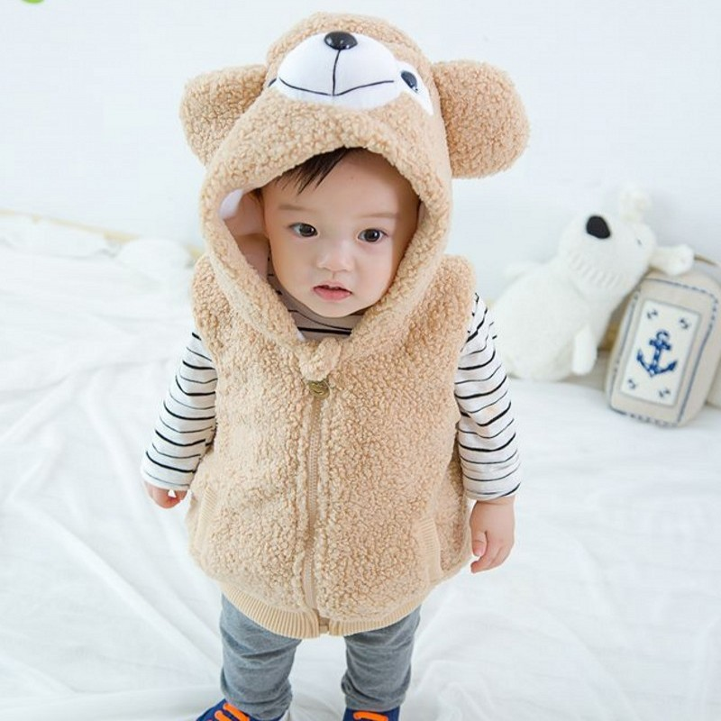 Newborn Coat Jacket Hooded-Thickness Girls Baby And 7BBC001 Bimbo Cappotto Boys