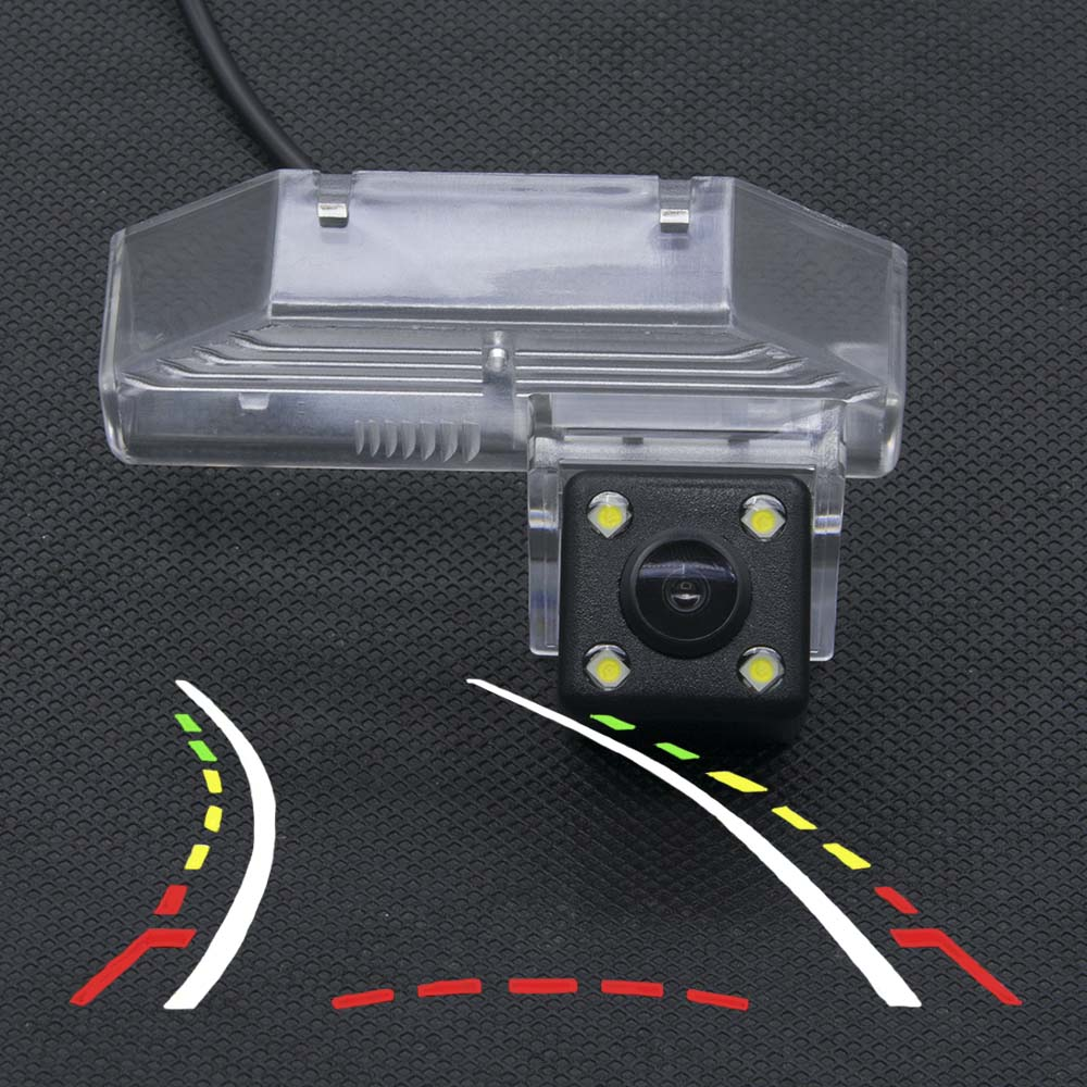 Car Dynamic Trajectory Tracks Rear view Camera for For <font><b>Mazda</b></font> RX-8 2004 2005 2006 2007 2008 2009 <font><b>2010</b></font> 2011 <font><b>Mazda</b></font> <font><b>6</b></font> 2009-2014 image