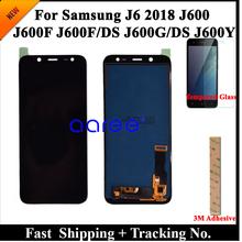 100 Test wyświetlacza LCD do Samsung J6 2018 J600 LCD J600F LCD do Samsunga J6 2018 J600F DS ekran LCD dotykowy digitizer montaż tanie tanio 1280x720 Pojemnościowy ekran For SAM J600 3 Nowy LCD i ekran dotykowy Digitizer ATELKOM Black 6 MONTHS For Samsung j6 2018 J600 LCD