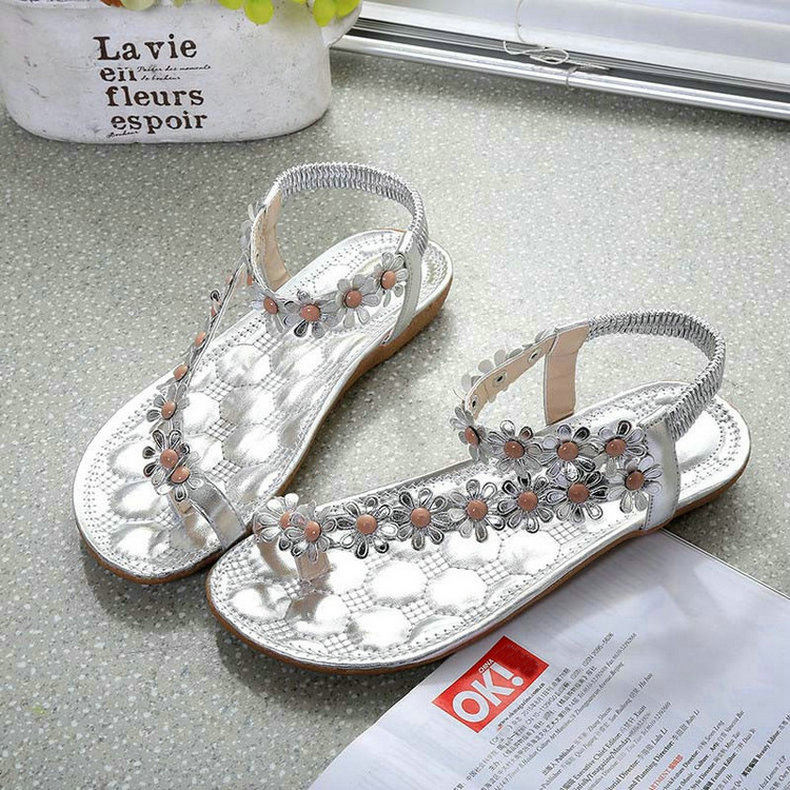 Cuculus 2019 Women Sandals Summer Style Bling Bowtie Fashion Peep Toe Jelly Shoes Sandal Flat Shoes Woman 3 Colors 01F669