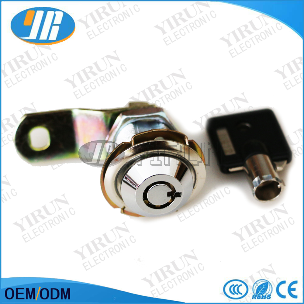 Arcade Parts Zinc Alloy 27mm / 32mm Cam Lock For Arcade Pinball Games Machines Arcade Cabinet Drawer Lock Door And To Have A Long Life.