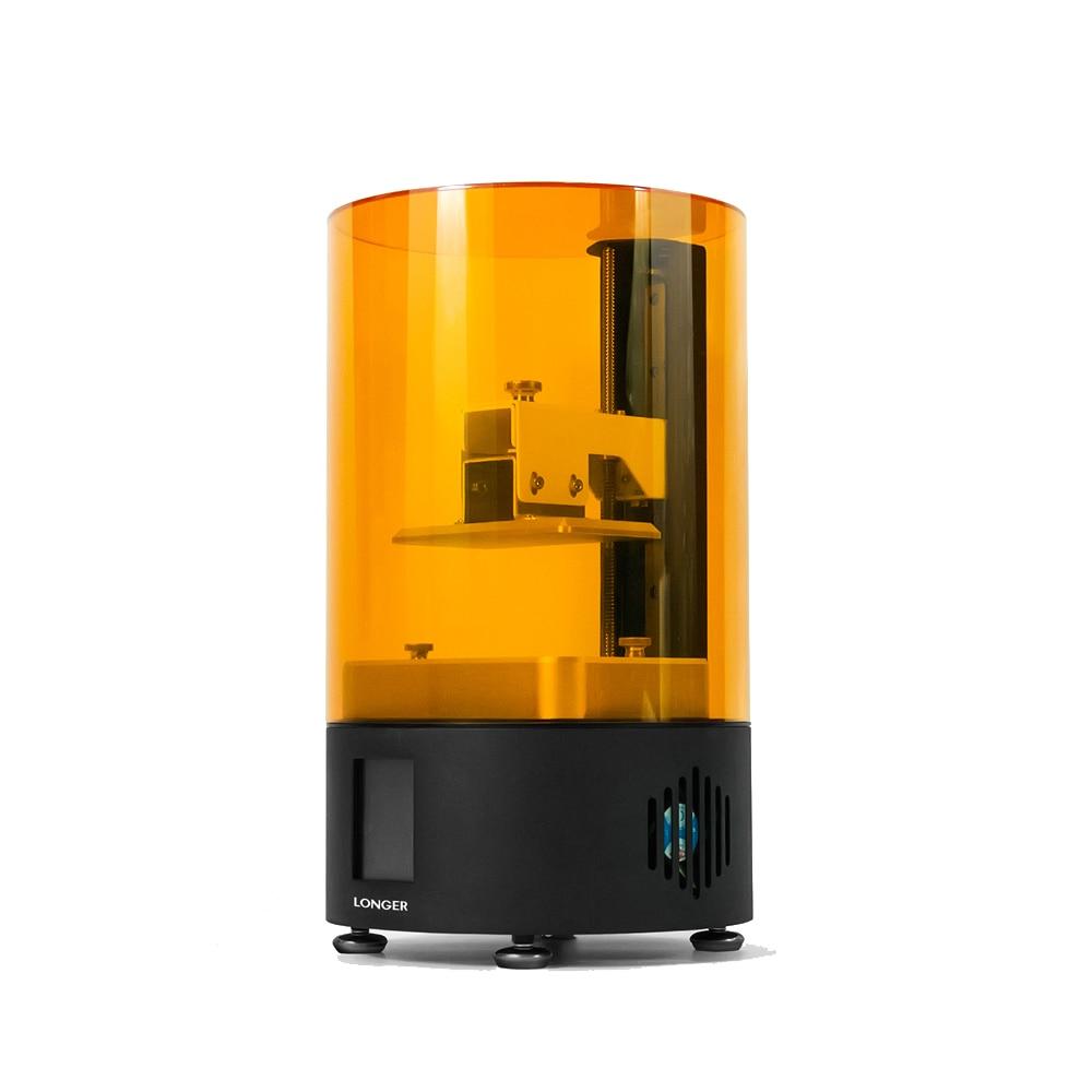 Imprimante 3D 120*68*150mm écran tactile découpage rapide Orange120 UV LCD imprimante 3D pour la plupart des matériaux d'impression de résine LCD 405nm