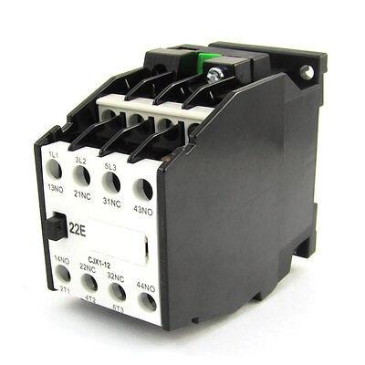 цена на CJX1-12 660V 3 Poles 3P NC NO 5mm DIN Rail AC Contactor 36V 50Hz 42V 60Hz Coil
