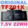 22WH Bateria Original 7.5 V para Asus EeePad TF201 TF300 C21-TF201X bateria Do Portátil