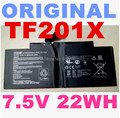 Original Battery 7.5V 22WH for Asus  EeePad TF201 C21-TF201X TF300 LAptop battery