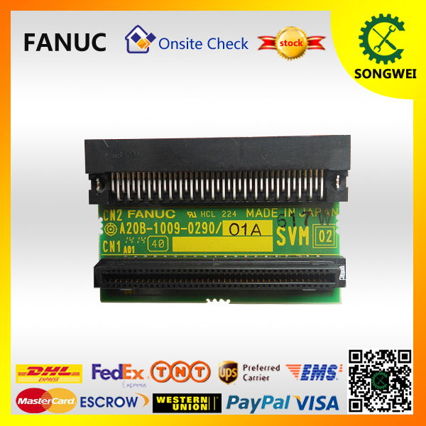 FANUC cnc control adapter plate A20B-1009-0290 fanuc pcb circuit a20b 3900 0170 for cnc spindle control daughter board