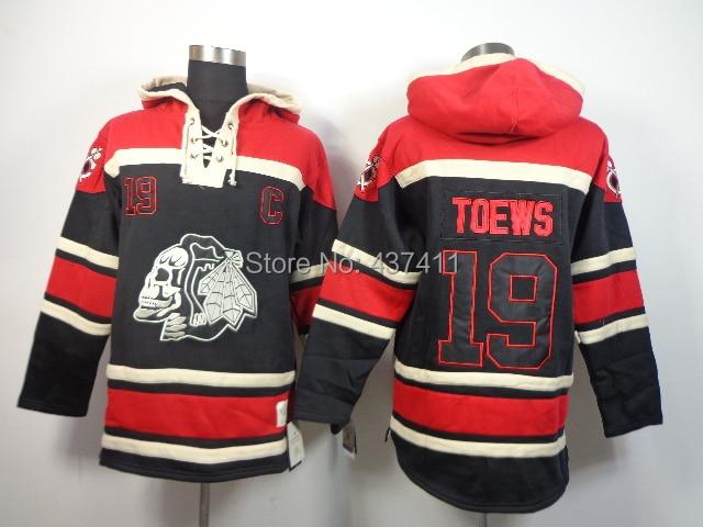 19eda0aee New Chicago Blackhawks Hoodies Jerseys 19 Jonathan Toews Old Time Hockey  Hoodies Sweatshirts ...