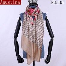 5c00d583ba1c Écharpe slik echarpes femmes hijab cape femelle luxueux sciarpa écharpes  châles Châle foulards mode sjaal wape