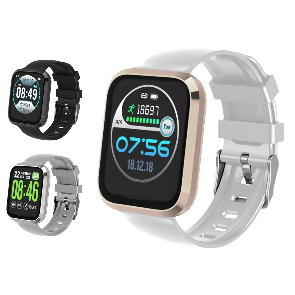 P30 Smart Watch Bluetooth Step Counter Waterproof Call Reminder Smart Bracelet 1.3 Inch Health Fitness Tracker For Android IOS-in Smart Watches from Consumer Electronics