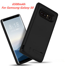 Extended Phone Battery Power Case 5000mAh Portable Cover Battery Charger Case For Samsung Galaxy S8 External Power Bank Case