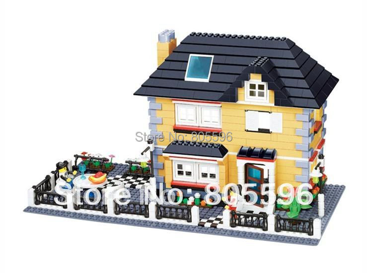 ФОТО 34051 without original box Enlighten Building Block Set 3D  Construction Brick Toys Educational Block toy  compatible with