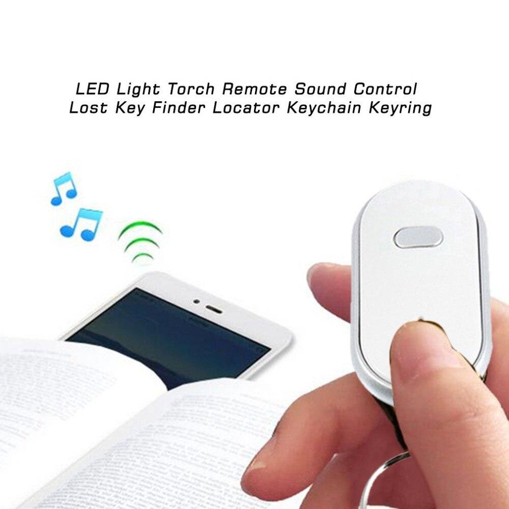 Smart Remote Key Finder con torcia led