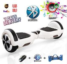 ul Scooter Hoverboard Smart Balance Electric Scooter Self Balance 2 Wheels street overbard Skateboard with key Bluetooth Speaker