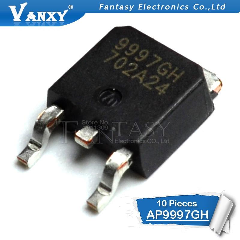 10PCS AP9997GH TO252 AP9997 TO-252 9997GH  AP9997GH-HF SMD