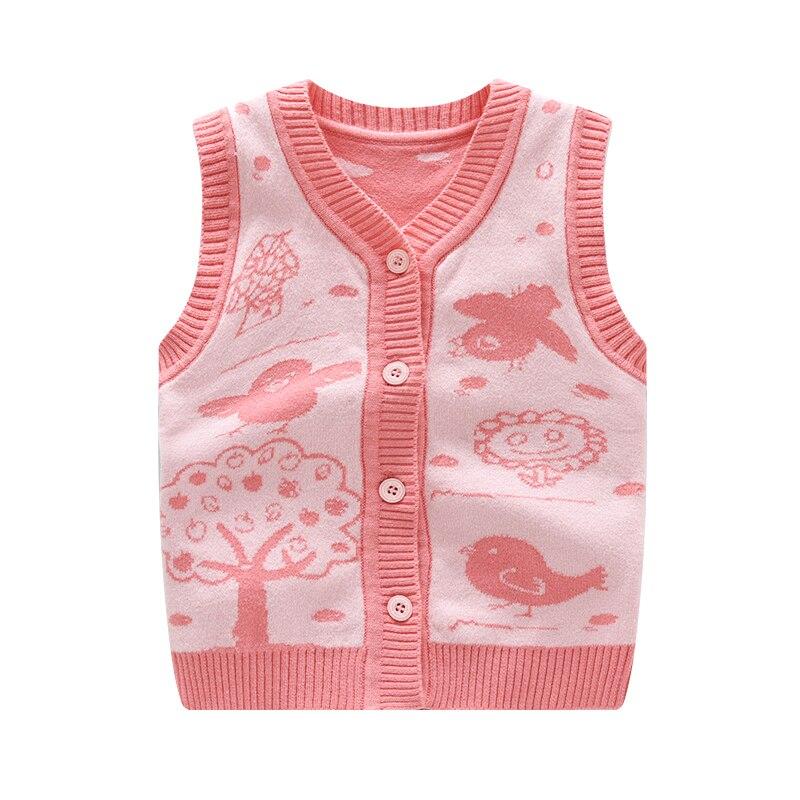 Cotton Baby Vest Wool Cardigan Vest Crochet Fashion Boy Clothes