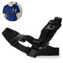 Single Shoulder Chest Strap Mount Holder Pro Belt Fix For GoPro Sport Camera Cycling HJ55