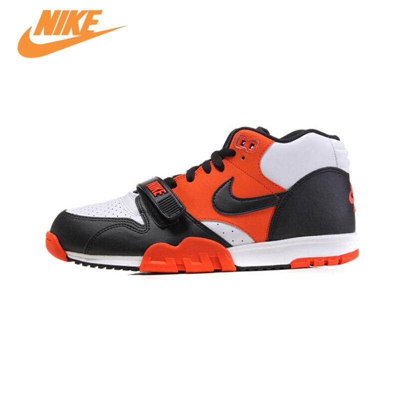 Оригинальный Новое поступление Официальный Nike Air Trainer 1 высокая Для мужчин круто удобные Обувь спортивные Спортивная обувь