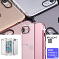Rocha série pura natureza limpar disco pc case para iphone 7/7 Mais de Cristal Tampa Transparente Para iPhone7 Pendurar Corda Corda Cinta