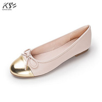 Dance Solft Mixted Color Flats Women Shoes Fashional Genuine Really Leather Shoes Luxury Designer Comfortable Shoes