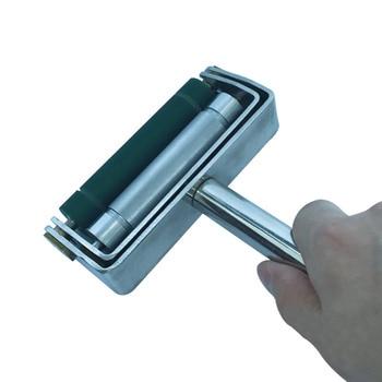 60~300 LPI Hand Ink Proofer Chrome Anilox & Rubber Roller Ink Proofer Use in ink produce цена 2017