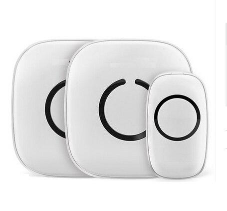 Здесь продается  XINSILU AC Power Wireless Doorbell Max 300 meters distance,Waterproof IP44 ,Volume adjustable 52 musics for optional 1V2  Безопасность и защита