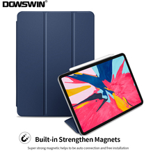 DOWSWIN Case For iPad Pro 11 2018 Smart Leather for 12.9 Magnetic Inch New Cover