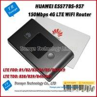 Nouvelle Arrivée D'origine Déverrouiller 150 Mbps Poche 4G WiFi Hotspot Soutien B1/2/3/4/5/8/19/38/39/40/41 Pour HUAWEI E5577BS-937
