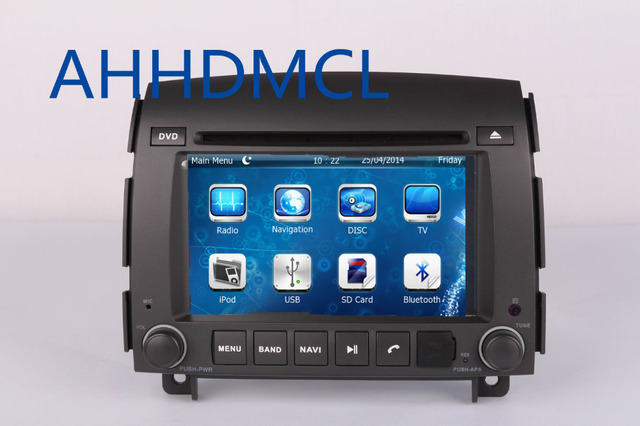 2 Din Car Cd Radio Audio Dvd Player Gps Bt For Hyundai Sonata Nf 2006 2007