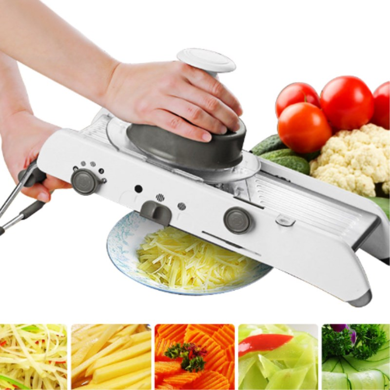 Mandolin Slicer Manual vegetable Slicer Professional Grater With Adjustable 304 Stainless Steel Blades Kitchen Cooking Tool
