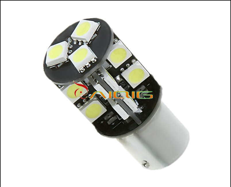 1156 BA15S 19 SMD CANBUS OBC Error Free Car LED lamp p21w R5W led bulbs Reverse Lights Car Light Source parking 12V